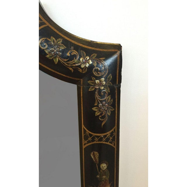 19th C. English Chinoiserie Mirror For Sale - Image 5 of 5