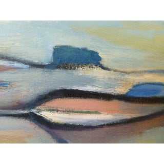 Feather Bay Contemporary Abstract Painting Preview