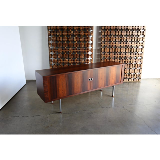 Mid 20th Century Hans Wegner Rosewood 'President' Cabinet, 1965 For Sale - Image 5 of 13