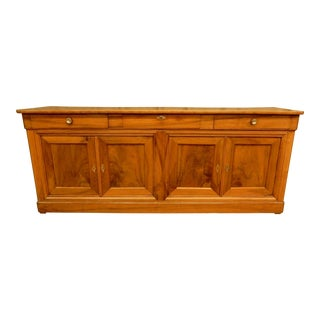 19th Century Walnut French Enfilade For Sale