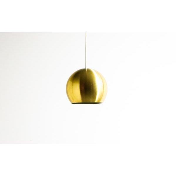 Gold Bowl Hanging Lamp - Image 2 of 4