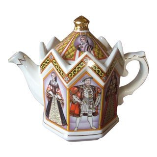 1980s Henry VIII Staffordshire Teapot For Sale