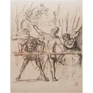 1959 Honoré Daumier, Circus Parade For Sale