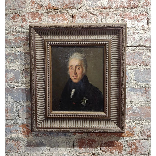 Black Portrait of Andrew Jackson - 19th Century Oil Painting For Sale - Image 8 of 8