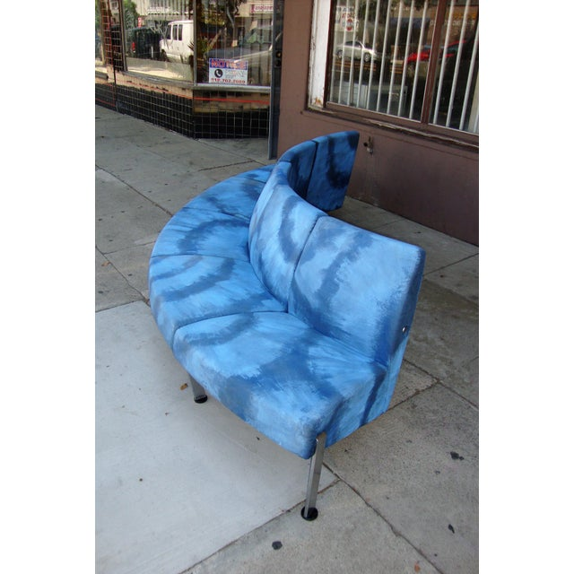 Modern Semi Round Sofa For Sale - Image 11 of 13