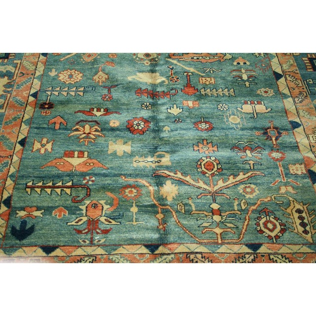 Tribal Persian Bakhshayesh Style Rug - 7′11″ × 8′ For Sale - Image 5 of 5