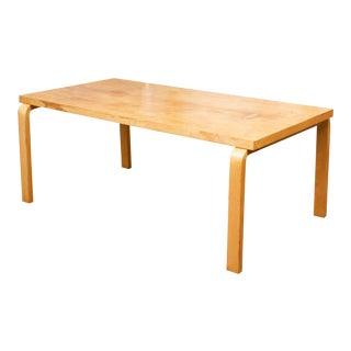 Alvar Aalto Birch Dining Table for Artek For Sale