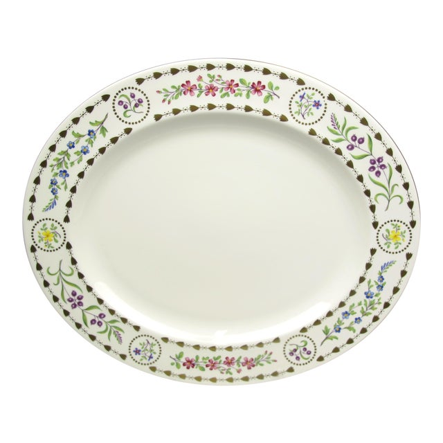 Large Royal Worcester Trianon Serving Platter For Sale
