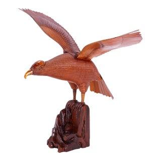 Wicker Bird Sculpture For Sale