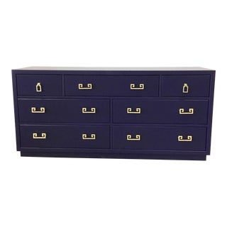 1960s Hollywood Regency Drexel Purple Lacquer Dresser