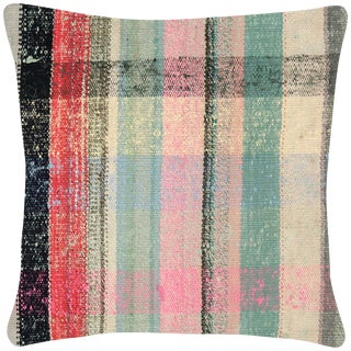 "1960s Turkish Hemp Pillow - 18"" X 18"" For Sale"