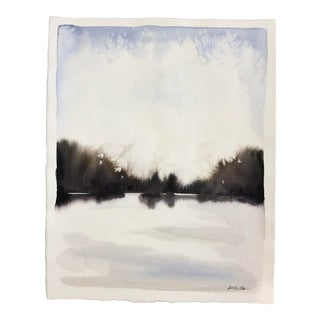 Large Abstract Landscape III Painting by Katie White For Sale