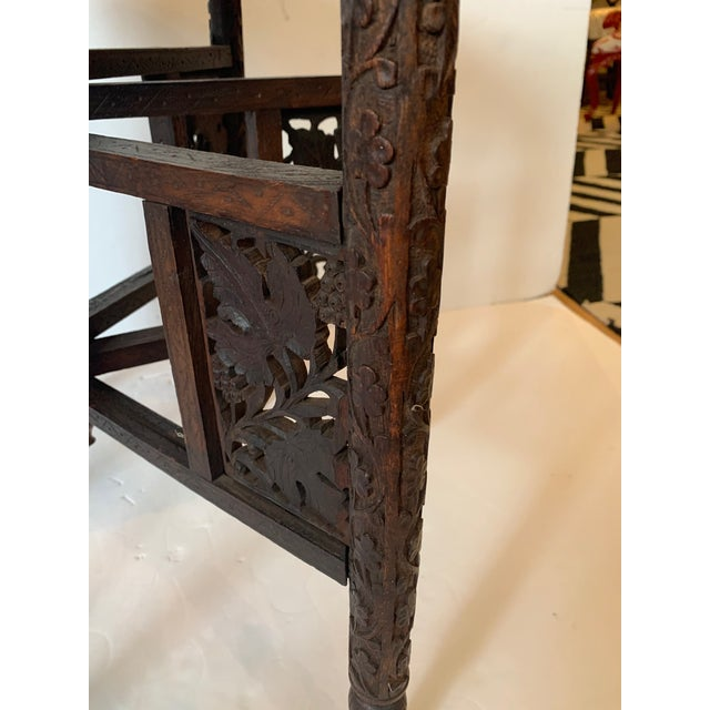 1970s Round Moroccan Tray End Table For Sale - Image 5 of 13