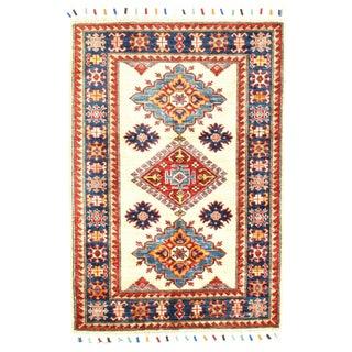 """Pasargad N Y Super Kazak Lamb's Wool Rug - 2'9"""" X 3'10"""" For Sale"""