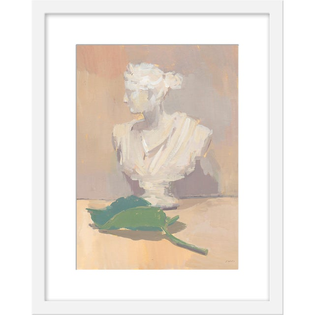 """Small """"Leaf of Athena"""" Print by Michelle Farro, 16"""" X 20"""" For Sale"""