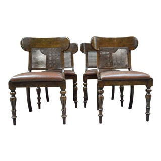 1990s Ralph Lauren Dining Room Chairs - Set of 4 For Sale