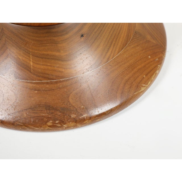 Brown Vintage Herman Miller Eames Timelife Walnut Stool For Sale - Image 8 of 9