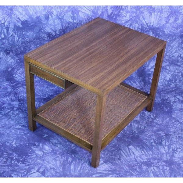 Brown Harvey Probber Mid-Century Modern End Table For Sale - Image 8 of 10