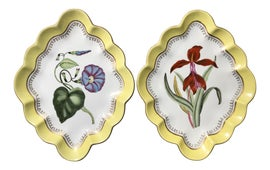 Image of Canary Yellow Decorative Plates