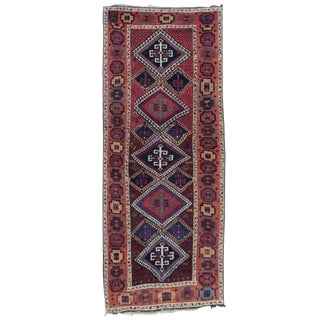 Antique Kurdish Long Rug For Sale