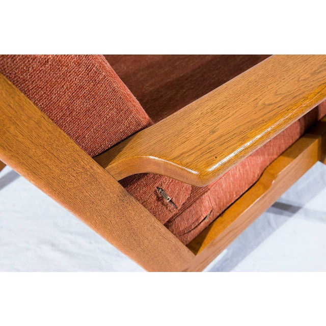 Hans Wegner GE-290 Lounge Chair For Sale - Image 9 of 10