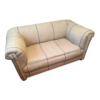 1900s Antique Chesterfield Loveseat For Sale