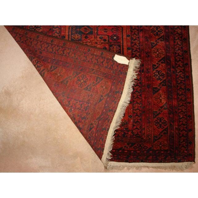 Semi-Antique Ersari Turkmen Rug - 4′ × 6′ - Image 3 of 4