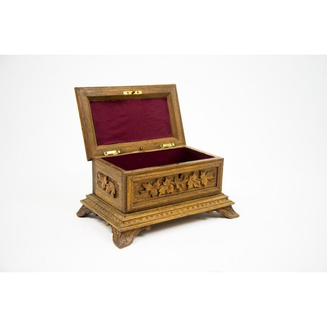 Black Forest Water Bird Jewelry Box - Image 5 of 10