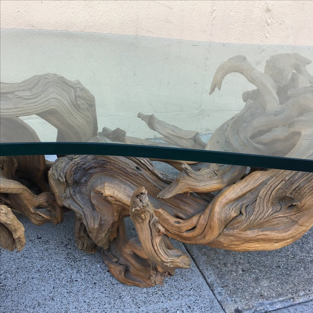 Driftwood Base Coffee Table - Image 7 of 10