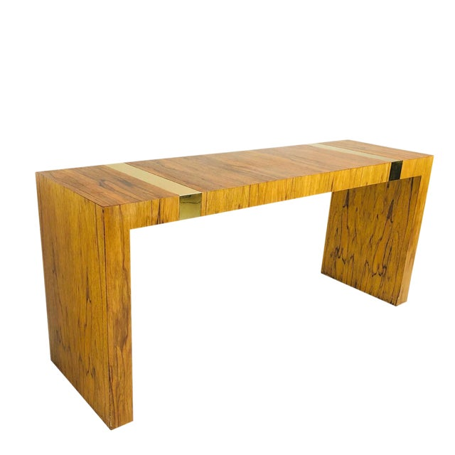 Vintage Console Table by Milo Baughman for Tc For Sale