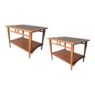 Lane Mid Century End Tables - A Pair For Sale