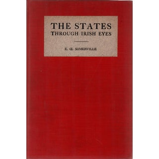 """1930 """"The States Through Irish Eyes"""" Collectible Book For Sale"""