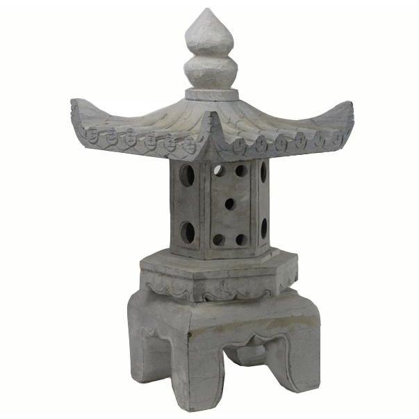 Stone Asian Stone Garden Lantern For Sale - Image 7 of 7