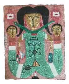 Image of Fabric Textile Art