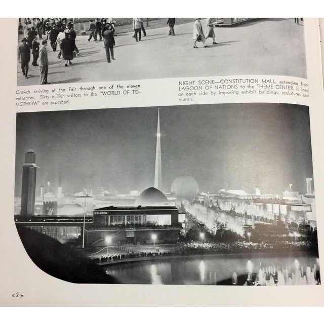 1939 New York World's Fair in Pictures Book For Sale - Image 4 of 12
