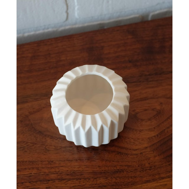 Ceramic Tealight Candle Holder For Sale - Image 4 of 4