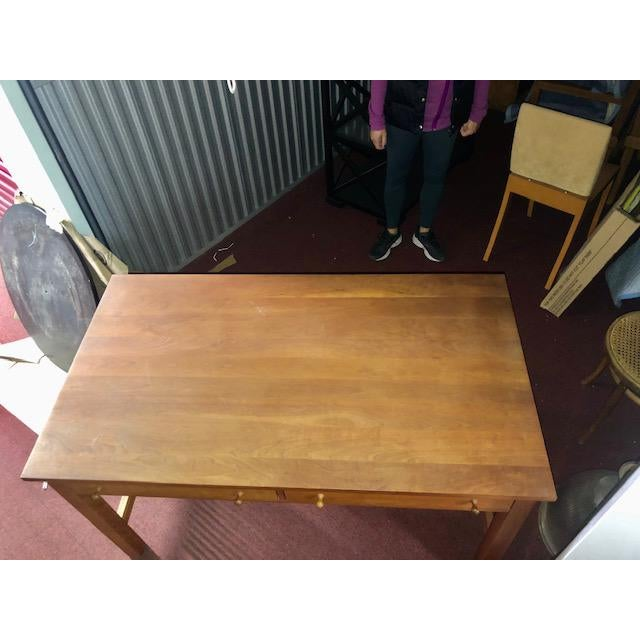 Stickley Stickley Mission Collection Writing Desk For Sale - Image 4 of 10