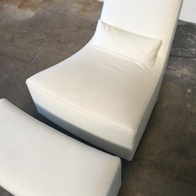 Ligne Roset Ligne Roset 'Neo' Rocking Chair & Ottoman by Alban-Sebastien Gilles For Sale - Image 4 of 6