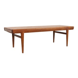 Danish Modern Johannes Andersen Extension Coffee Table For Sale