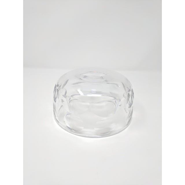 Late 20th Century Vintage Orrefors Crystal Bowl For Sale - Image 5 of 6
