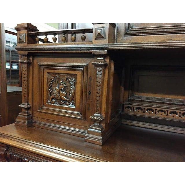 Late 19th Century Antique French Renaissance Style Cabinet For Sale - Image 9 of 13