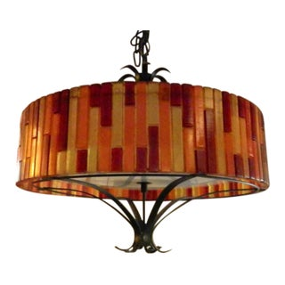 Funky Mid-Century Modern Lucite Lamp