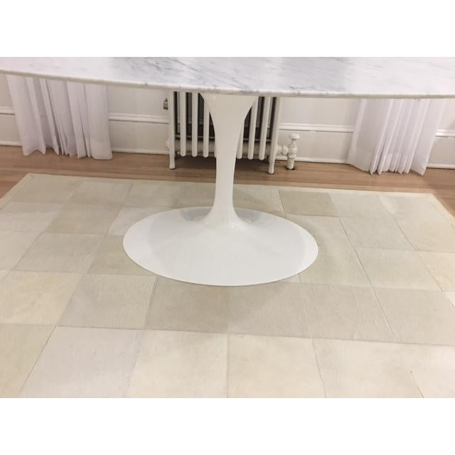 Knoll & Eero Saarinen White Dining Table - Image 7 of 11