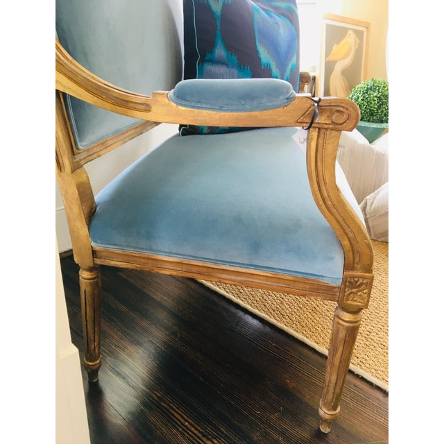 Vintage French Settee For Sale - Image 4 of 6