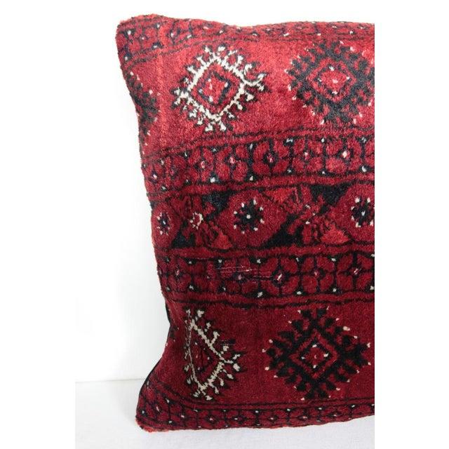 Boho Chic Boho Chic Carpet Pillow For Sale - Image 3 of 11
