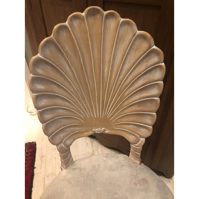 Vintage Clam Shell Grotto Chairs - Set of 6 For Sale In Charleston - Image 6 of 11