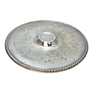 International Silver Company Hors D'oeuvre Platter For Sale