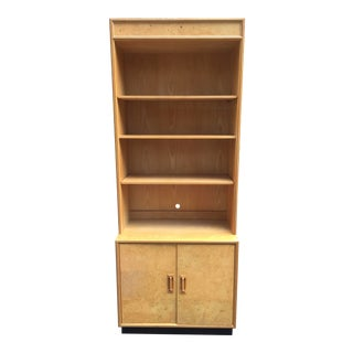 1970s Mid-Century Modern Henredon 'Scene Two' Bookcase With Storage For Sale