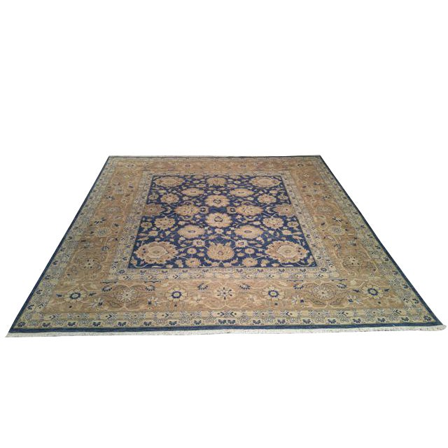 10 39 x 10 39 6 traditional rug hand knotted in fine wool in for 10 x 10 ft in sq ft