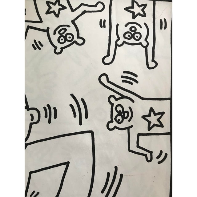 This is a First Edition, Rare, © KEITH HARING 1985 (COLORING BOOK) Distributed in small quantities by Keith Haring's Pop...